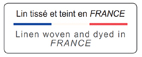 Linge de lit de luxe, linge de maison luxe, linge de lit lin, Lin européen, lin tissé en France, savoir faire depuis 1847