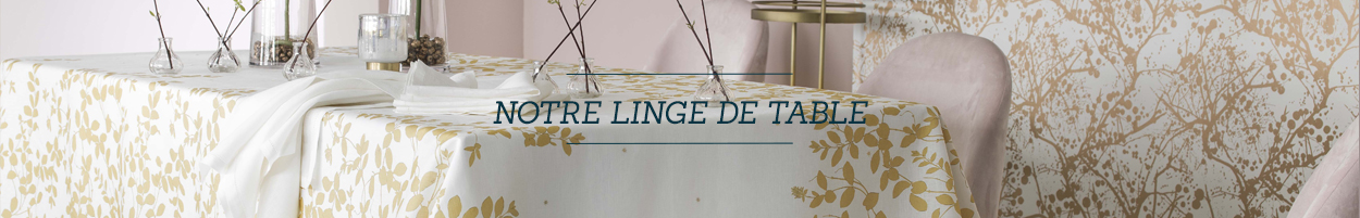 Ensembles de linge de table
