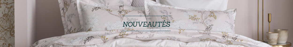 Nouveautés Linge de lit