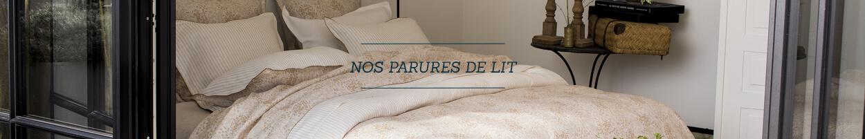 Toutes nos parures de lit
