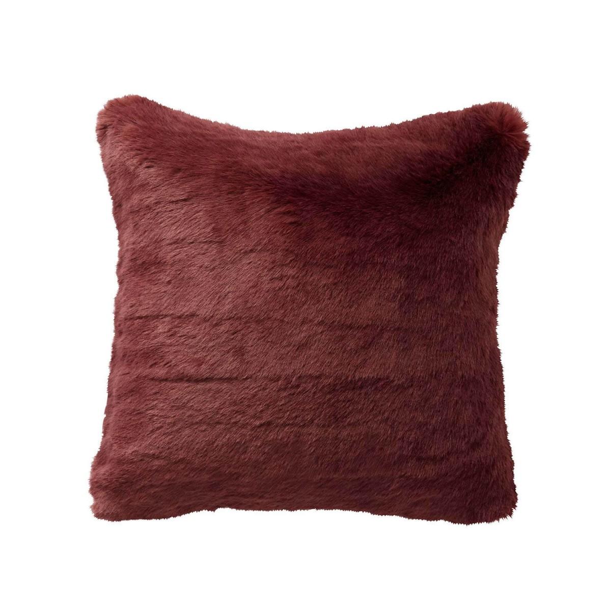 housse de coussin fausse fourrure tsarine alexandre turpault. Black Bedroom Furniture Sets. Home Design Ideas