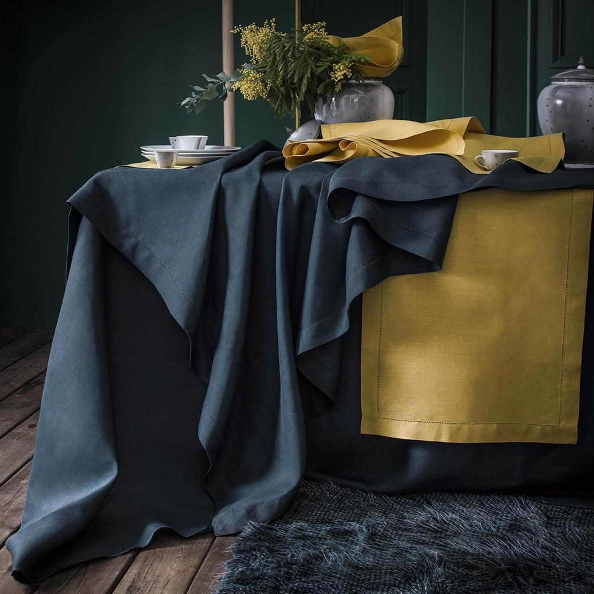 serviette de table en lin florence alexandre turpault. Black Bedroom Furniture Sets. Home Design Ideas