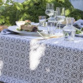 Set de table EMBLÈME en coton enduit