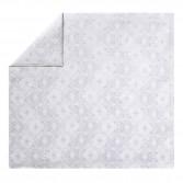 Drap de lit NAMASTE Blanc en satin de coton