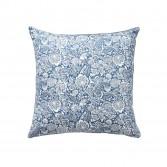 Bout de lit luxe SAUVAGE Bleu