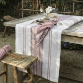 Chemin de table AMALFI en lin