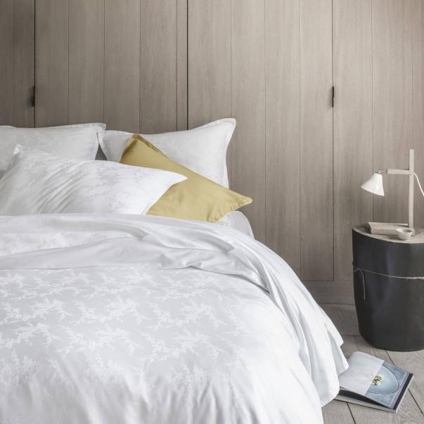 Parure de lit AVRIL en jacquard de coton