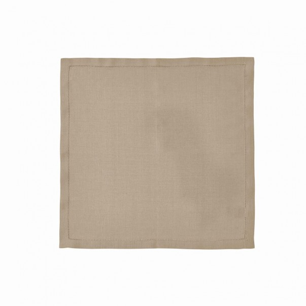 Serviette de table FLORENCE en lin - En promotion
