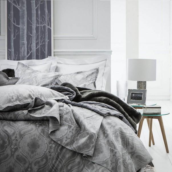 Parure de lit NAMASTE Argent