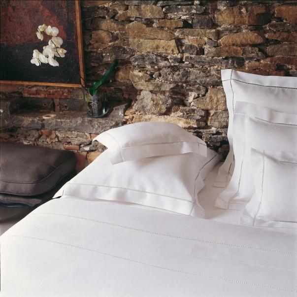 Parure de lit REGENCE Blanc en lin