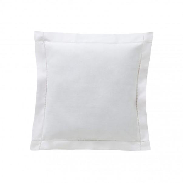 Taie d'oreiller en lin KEOPS Blanc