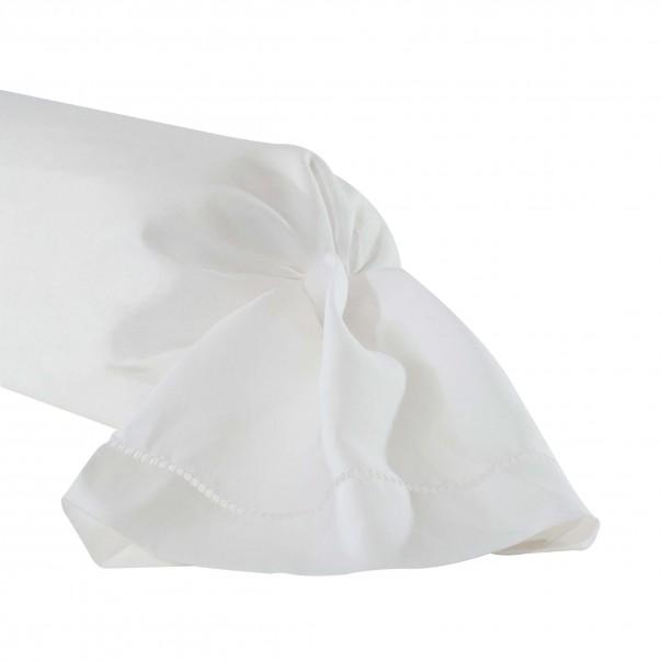 Taie de traversin KEOPS Blanc en lin