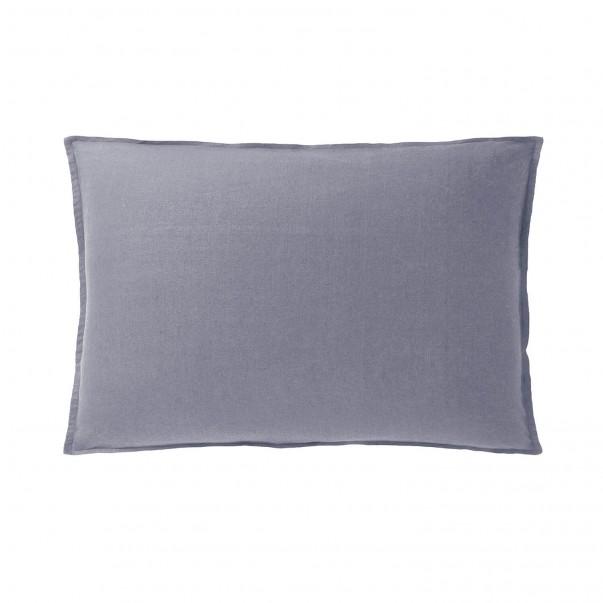 Taie d'oreiller fabriquée en France NOUVELLE VAGUE en lin lavé - Exclu Web
