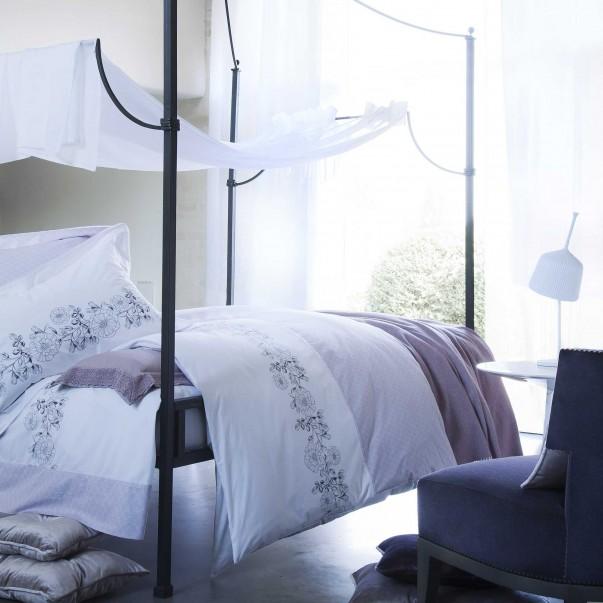 Parure de lit PETIT TRIANON en satin de coton