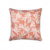 "Bed set ZANZIBAR printed sateen ""Corals and shellfishs"""