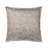 "BLOSSOM Pillowcase in organic cotton sateen printed ""Passiflore"""