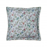 "CANDIDE Pillowcase in printed cotton percale ""Flore Persane"""