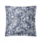 """CHANDERNAGOR Duvet cover in organic cotton sateen printed """"Perse"""""""