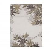 "HALATTE Duvet cover in organic satin cotton printed ""Autumn Forest"""