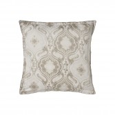 "Pillowcase NAMASTE Biscuit, printed sateen ""Cashemere"" pattern"