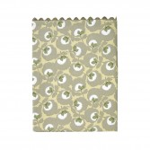 "Pillowcase TRÉSOR, printed percale ""Flower carpet"""