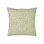 "Pillowcase TRÉSOR, printed percale ""Flower carpet"""