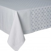 LUXEMBOURG Silver Tablecloth