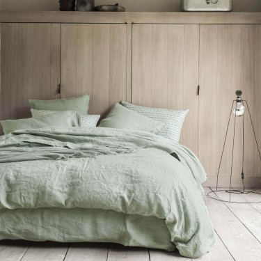 Bed set pre-washed linen NOUVELLE VAGUE