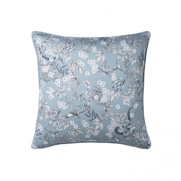 LE CHANT DU MONDE Cushion case cotton sateen