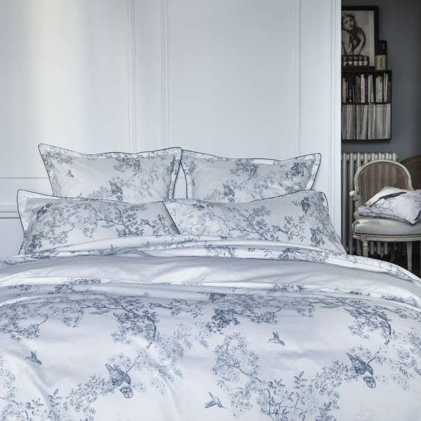 CANOPÉE duvet set  printed cotton sateen