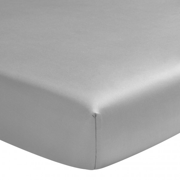 "TEO Cotton sateen fitted sheet - 16"" Pocket depth"