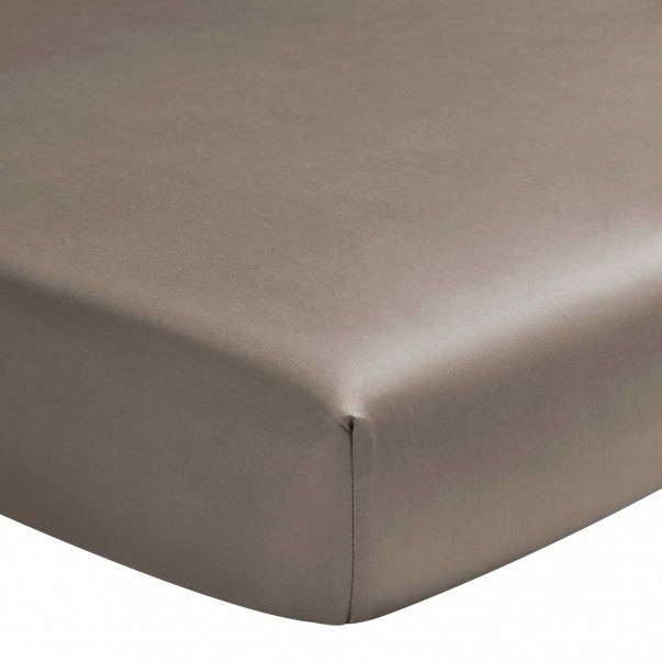 TEO cotton sateen fitted sheet - In promotion