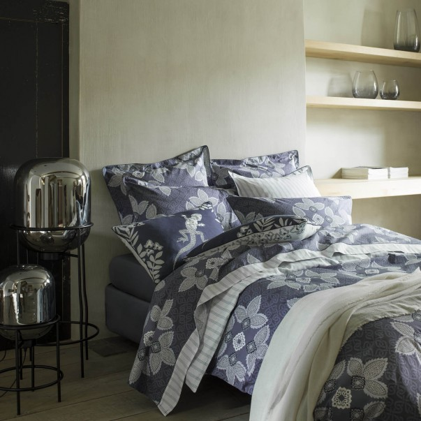 "Bed set cotton percale MAGELLAN printed ""Ornemental"""