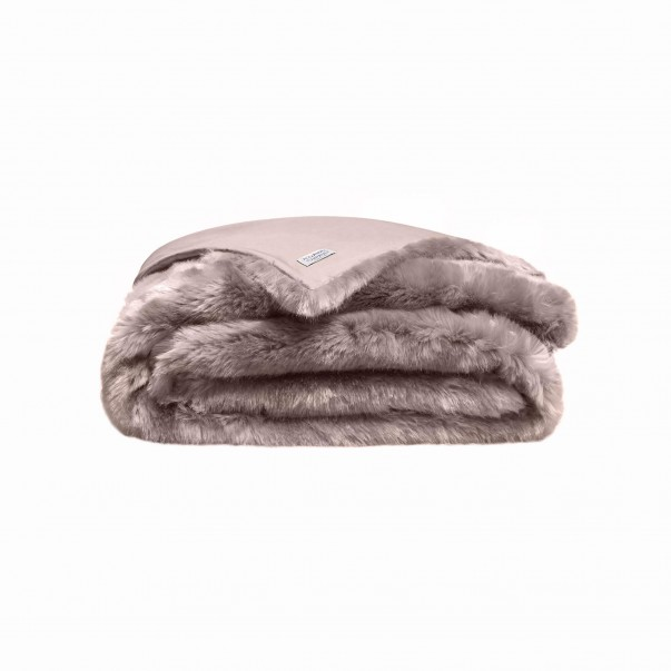 TSARINE Throw and Bed cover made of synthetic faux-fur