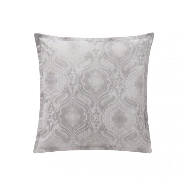 NAMASTE Silver Pillowcase & Sham