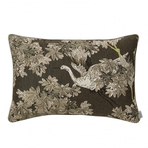 BEL OISEAU printed cushion cover in tapestry