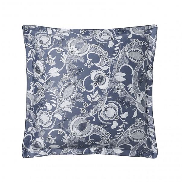 "CHANDERNAGOR Pillowcase in organic cotton sateen printed ""Perse"""