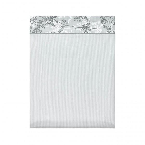 ERMITAGE Cotton percale Flat sheet