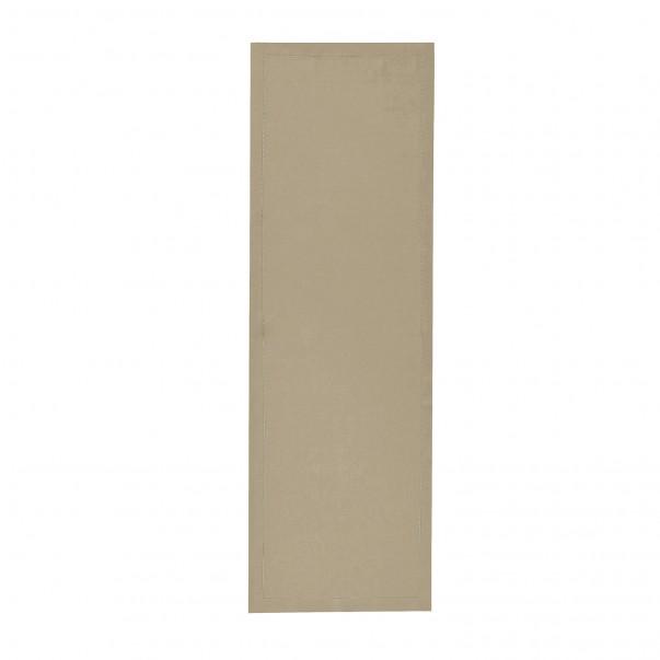 Plain dye pure linen Tablerunner FLORENCE