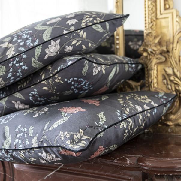 BOHÊME Cushion case in printed sateen