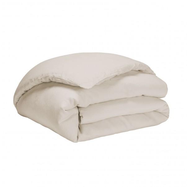 "Duvet cover pre-washed linen NOUVELLE VAGUE  ""French Origin"" guaranteed"