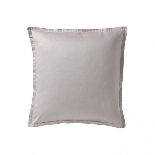TEOPHILE plain Pillowcase in organic cotton sateen