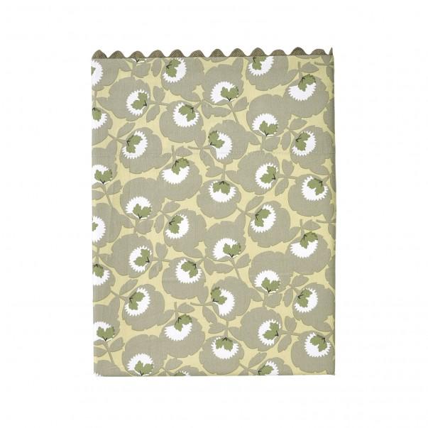 "Flat sheet TRÉSOR, printed percale ""Flower carpet"""