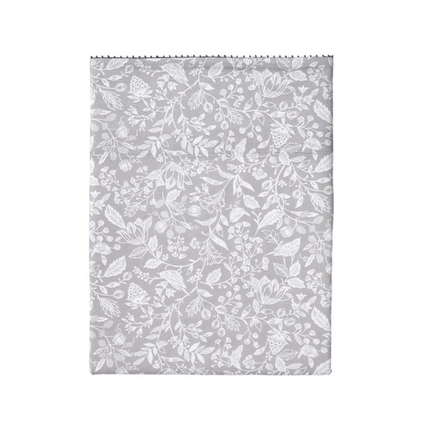 "MA MUSE Flat sheet in printed sateen ""Liberty"""