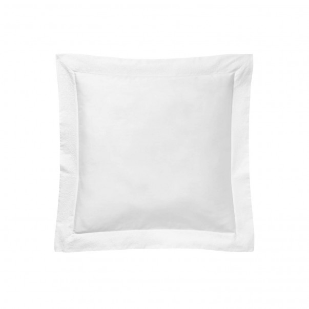 ALTESSE Snow pillowcase, Embroidered plain dye