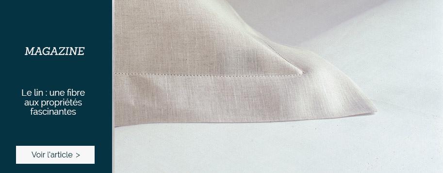 MAGAZINE : #1 Zoom sur le lin : une fibre aux propriétés fascinantes