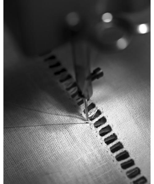 Linge de lit luxe alexandre tupault,tirage de fil finition jour venise
