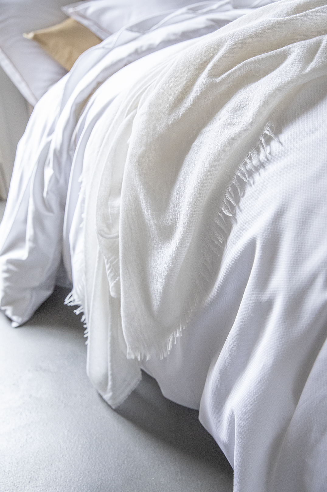 Parure de lit et plaid